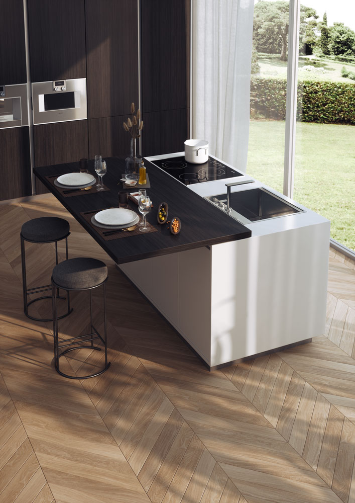 Top 33 Extra Thin Sliding Table Top For The Kitchen Island Atim